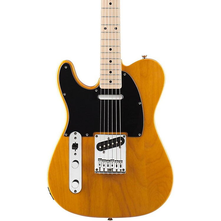SquierAffinity Series Left-Handed Telecaster Special Electric GuitarButterscotch Blonde