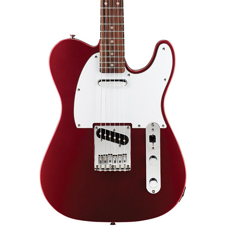 Squier Affinity Series Telecaster, Rosewood Fingerboard Metallic Red Rosewood Fingerboard