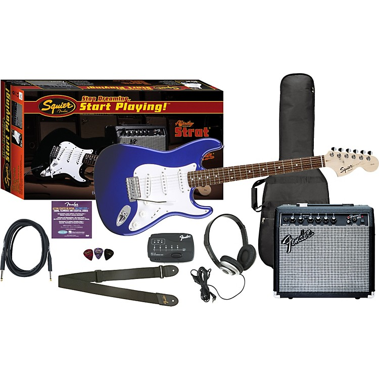 Fender Affinity Special Strat and Frontman 15G Amp Value Pack Black