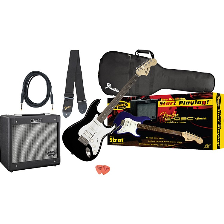 Fender Affinity Strat HSS and G-DEC Junior Amp Value Pack