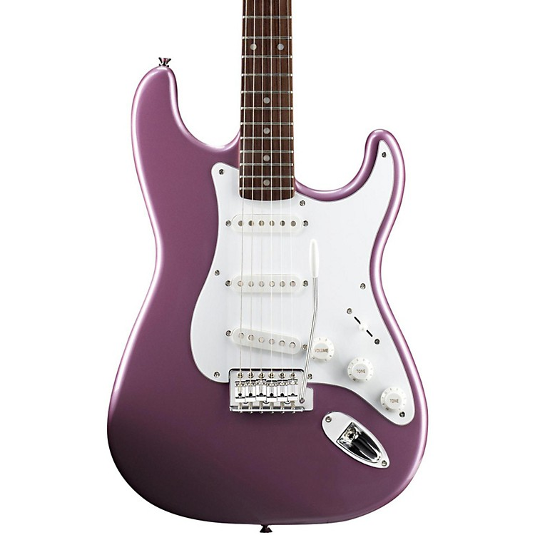 Squier Affinity Stratocaster Electric Guitar with Rosewood Fingerboard Burgundy Mist Rosewood Fingerboard