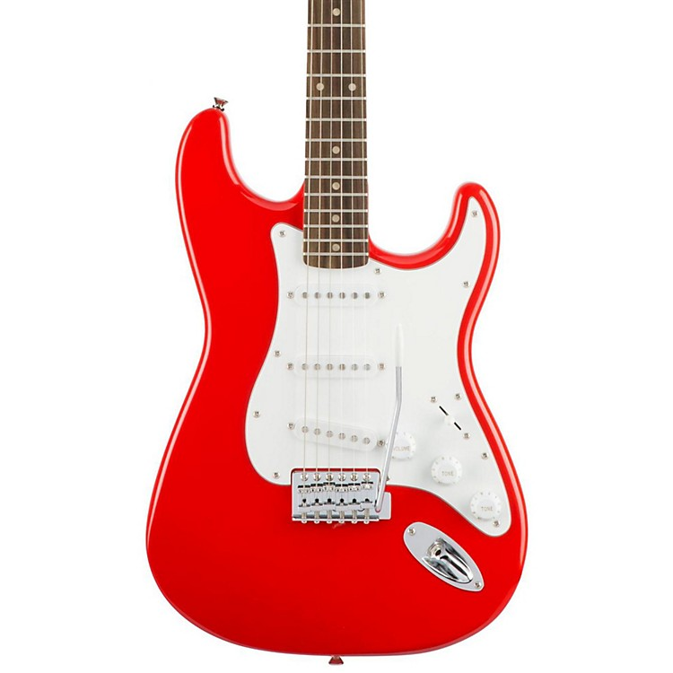 SquierAffinity Stratocaster Electric Guitar with Rosewood FingerboardRace Red