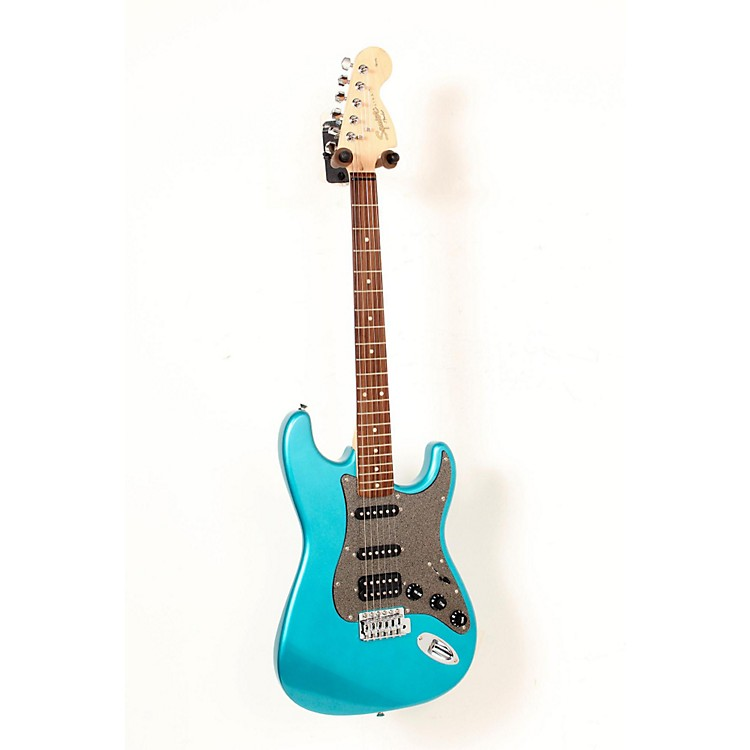 Squier Affinity Stratocaster HSS Electric Guitar with Rosewood Fingerboard Lake Placid Blue 888365225838