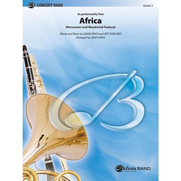 AlfredAfrica Concert Band Grade 3