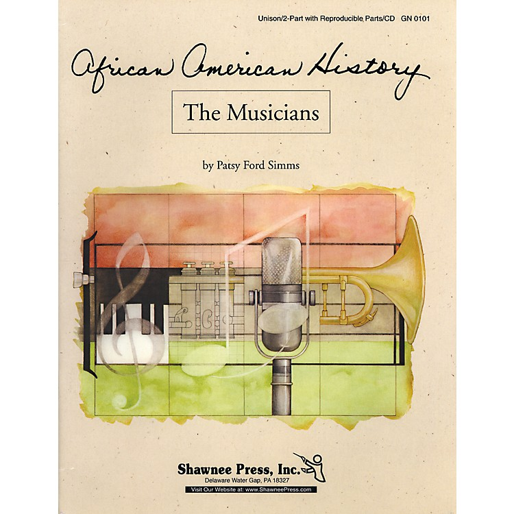 Shawnee Press African American History Series The Musicians Reproducible Parts And Cd
