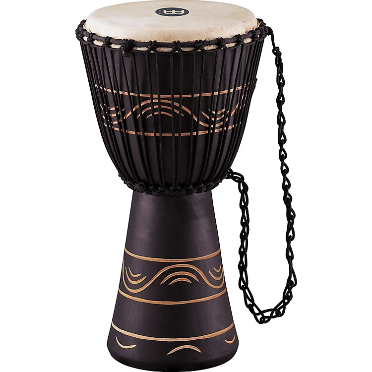 MeinlAfrican Style Rope Tuned Djembe with Bag