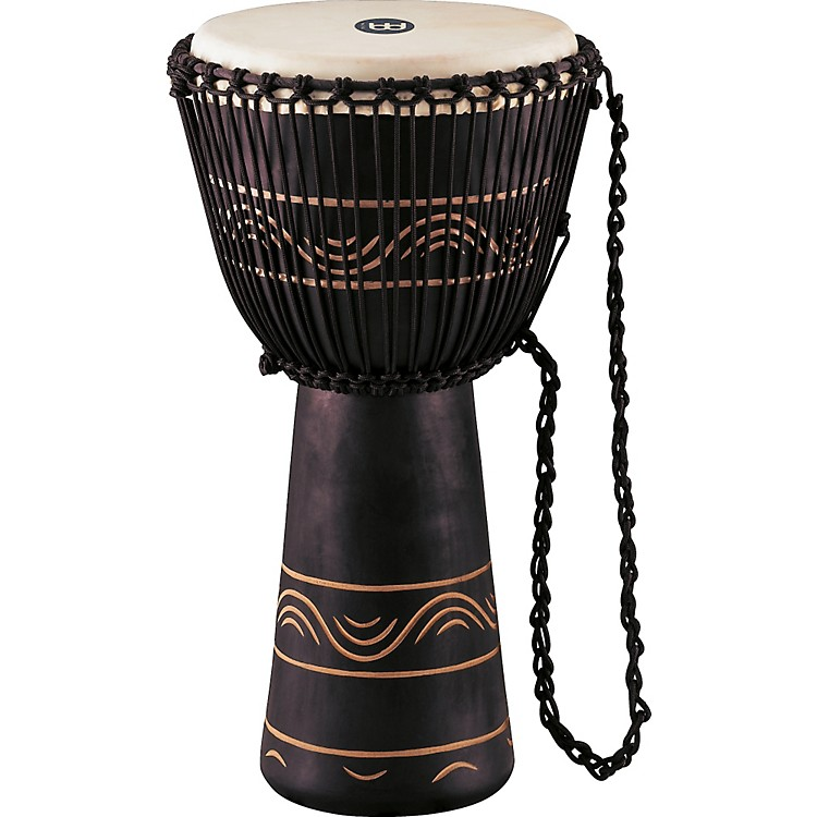 Meinl African Style Rope Tuned Djembe with Bag XL