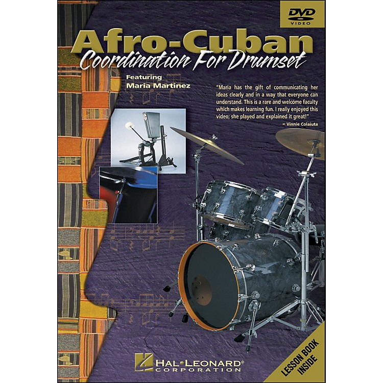 Hal Leonard Afro-Cuban Coordination for Drumset - DVD
