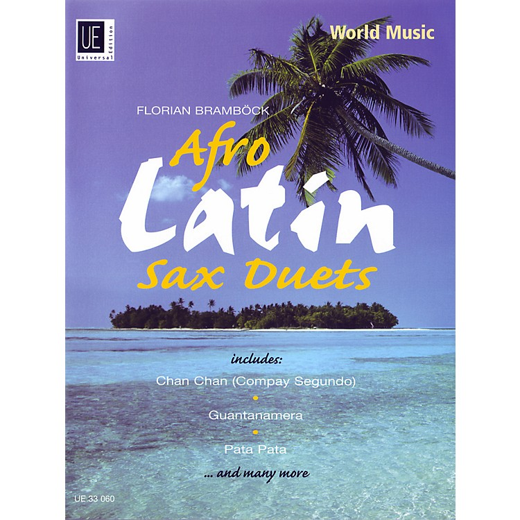 Theodore Presser Afro-Latin Sax Duets (Book + Sheet Music)