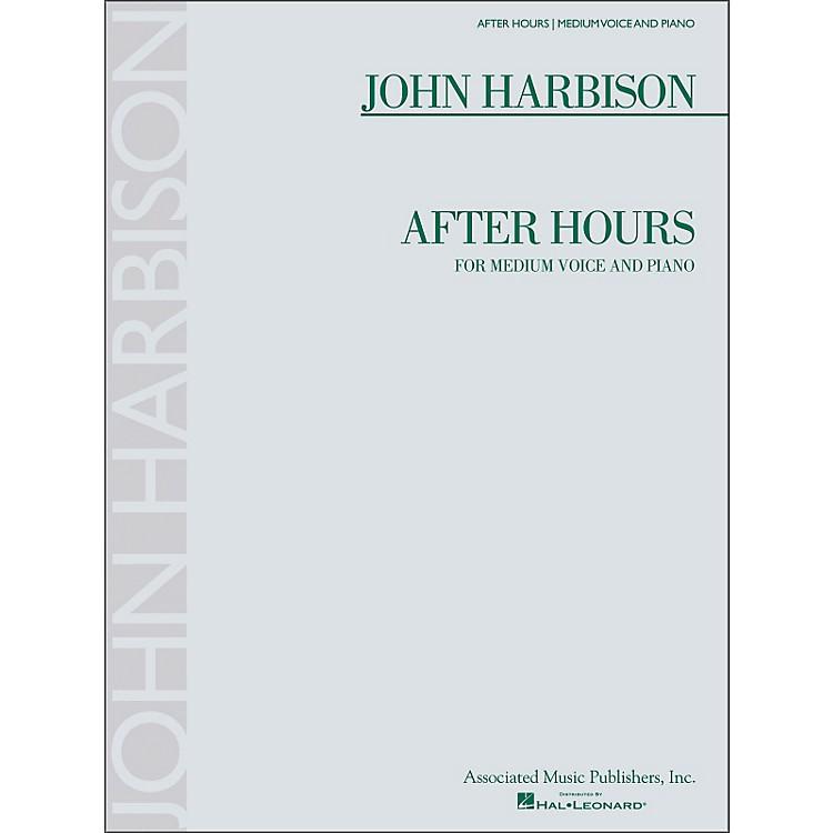 G. SchirmerAfter Hours (Medium Voice And Piano)