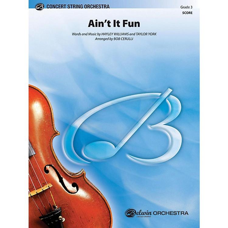 AlfredAin't It Fun String Orchestra Grade 3