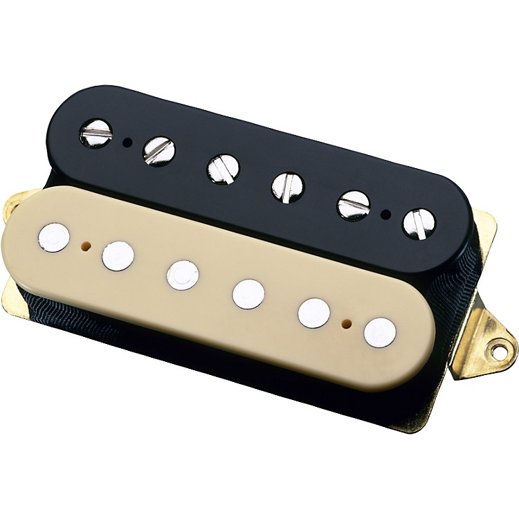DiMarzioAir Zone DP192 Humbucker Electric Guitar PickupBlack/CreamF-Spaced