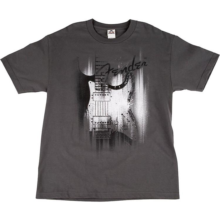 FenderAirbrushed Strat T-ShirtLargeGray