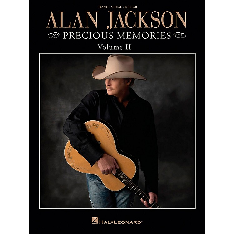 Hal Leonard Alan Jackson - Precious Memories Volume 2 for Piano/Vocal/Guitar (P/V/G)