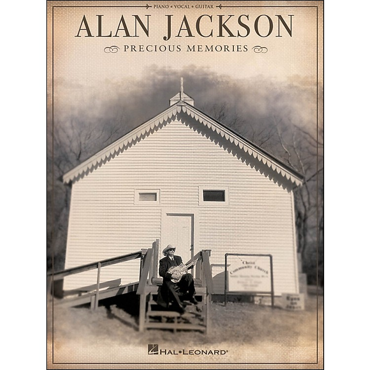 Hal Leonard Alan Jackson Precious Memories arranged for piano, vocal, and guitar (P/V/G)