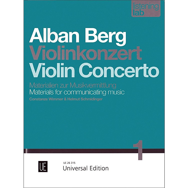 Carl FischerAlban Berg: Violin Concerto Study
