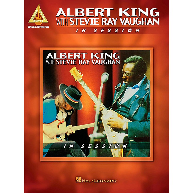 Hal Leonard Albert King With Stevie Ray Vaughan - In Session Guitar Tab Songbook