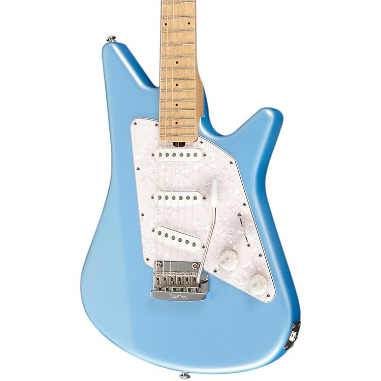 Ernie Ball Music Man Albert Lee SSS Electric Guitar with Tremolo Bridge Sky Blue
