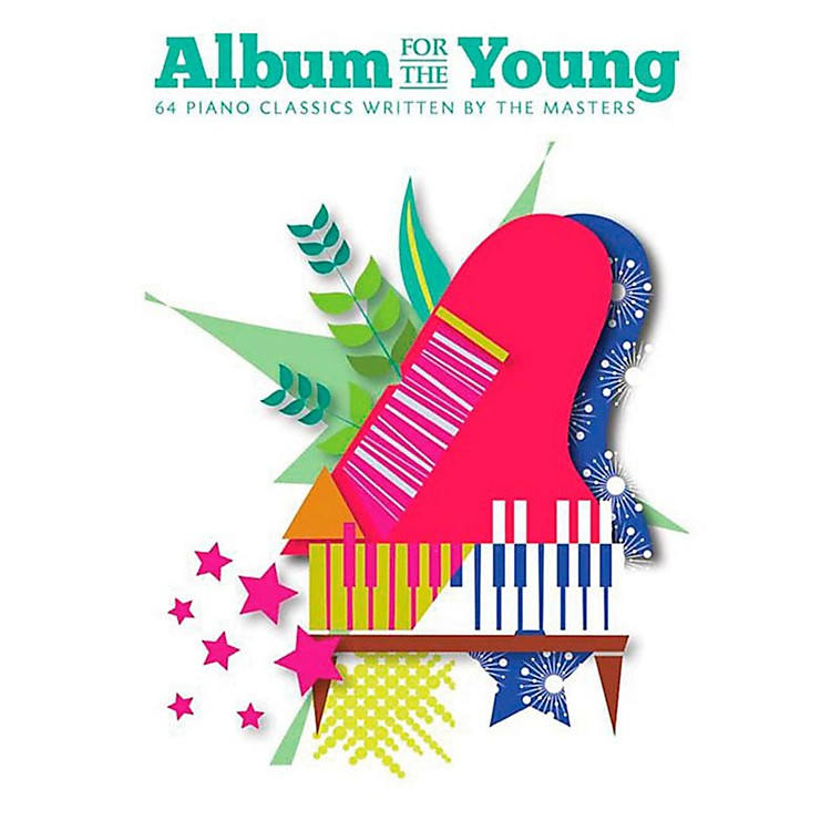 Music Sales Album For The Young - 64 Piano Classics Written By The Masters