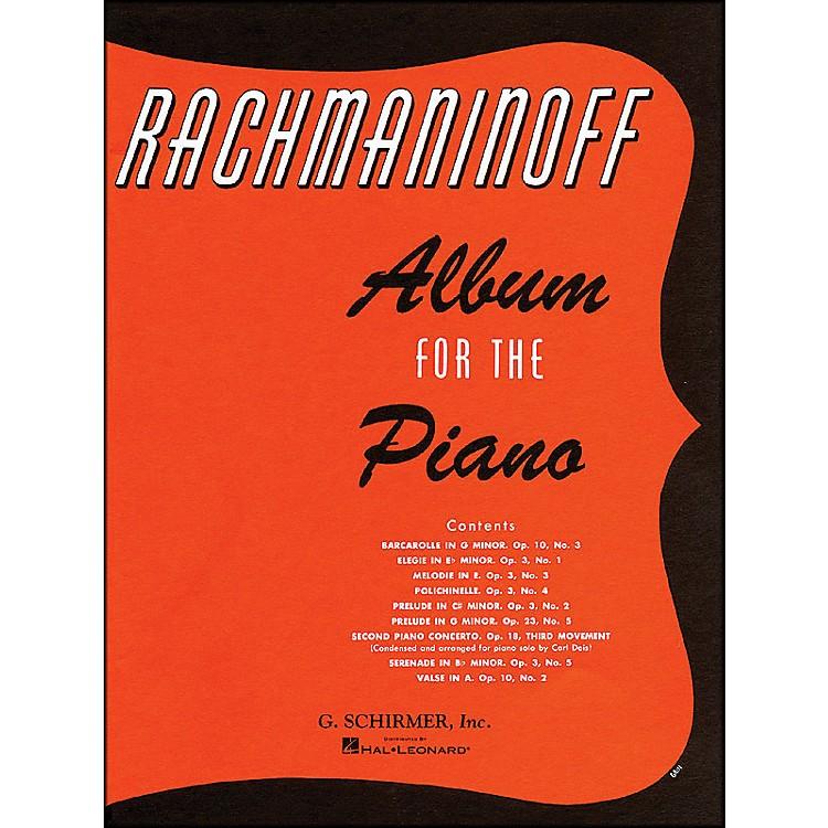 G. SchirmerAlbum for The Piano By Rachmaninoff