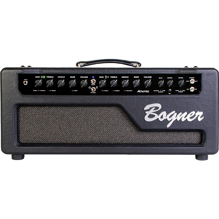 Bogner Alchemist Series Tube Guitar Amp Head Black