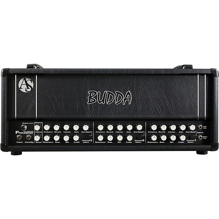 Budda Alex Skolnick Preceptor 120W Tube Guitar Amp Head Black