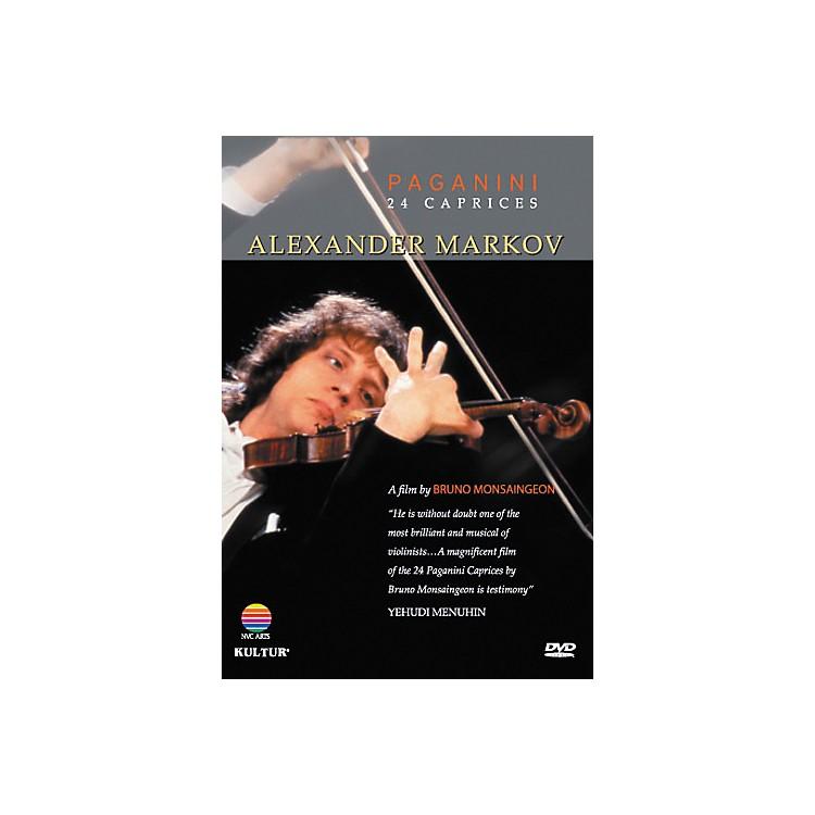 KulturAlexander Markov: Paginini's 24 Caprices DVD