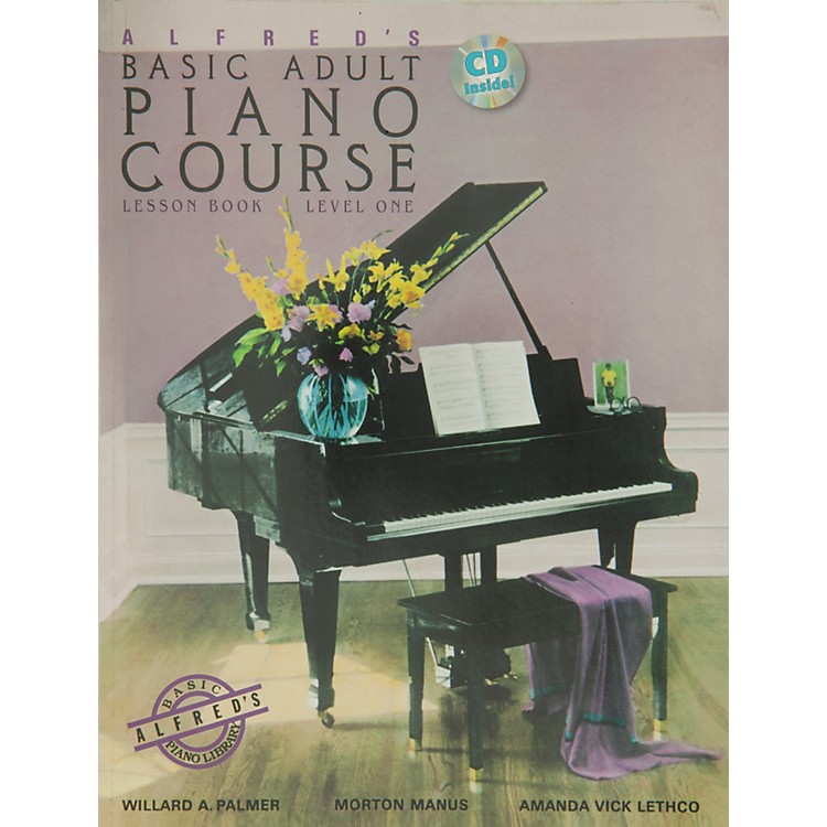 Alfred Alfred's Basic Adult Piano Course Lesson Book 1 Book 1 & CD