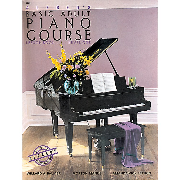 AlfredAlfred's Basic Adult Piano Course Lesson Book 1