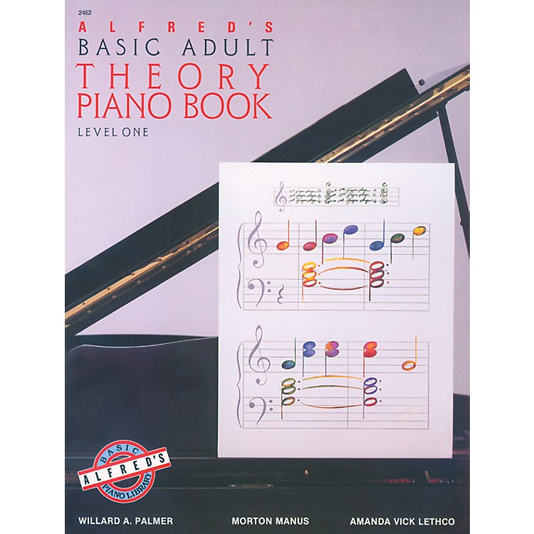 Alfred Alfred's Basic Adult Piano Course Theory Book 1