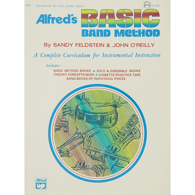 Alfred Alfred's Basic Band Method Book 1 Percussion (Snare Drum Bass Drum & Accessories)