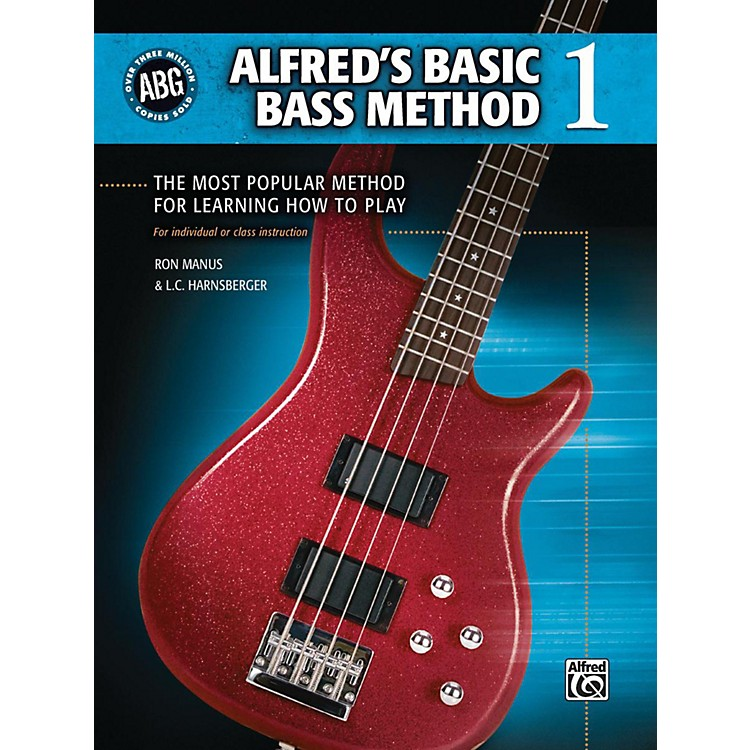 AlfredAlfred's Basic Bass Method Book 1