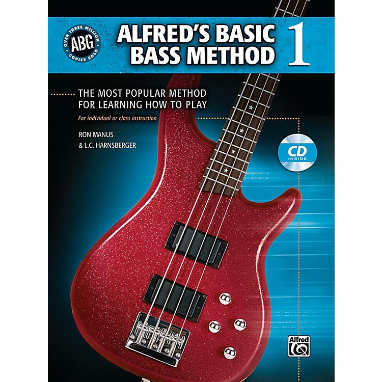 AlfredAlfred's Basic Bass Method Book & CD 1