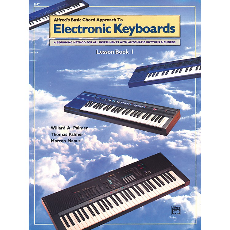 AlfredAlfred's Basic Chord Approach to Electronic Keyboards Lesson Book 1