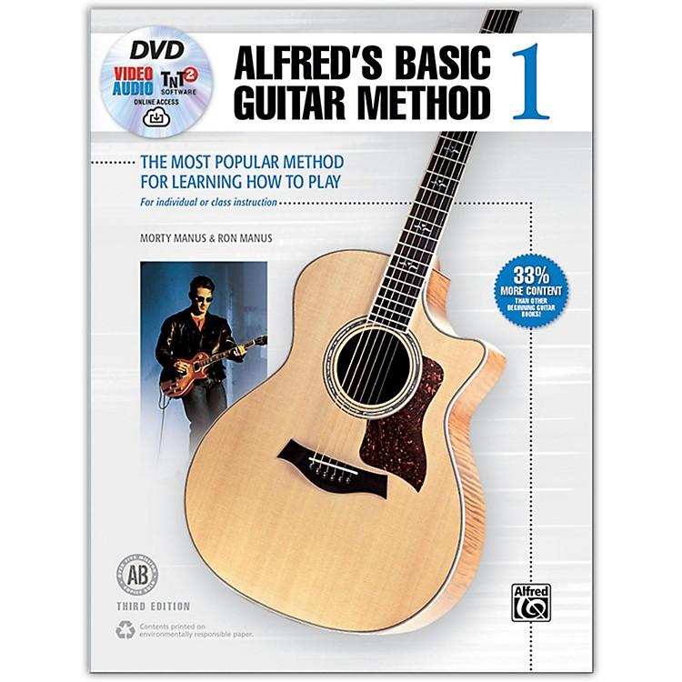 AlfredAlfred's Basic Guitar Method 1 Book DVD & Enhanced CD