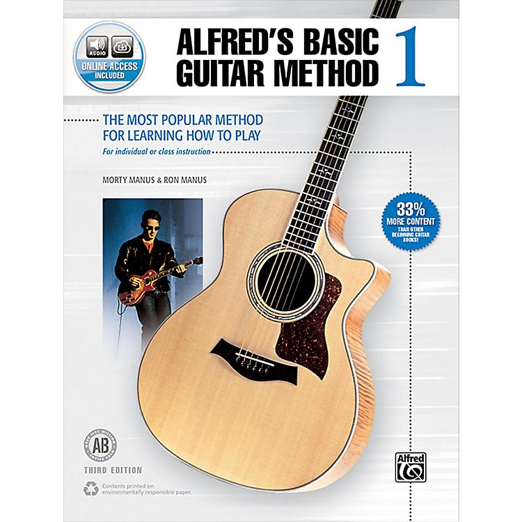 AlfredAlfred's Basic Guitar Method 1 Book & Online Audio 3rd Edition