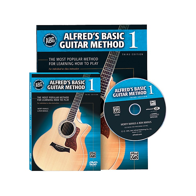 AlfredAlfred's Basic Guitar Method Book 1 with DVD/CD