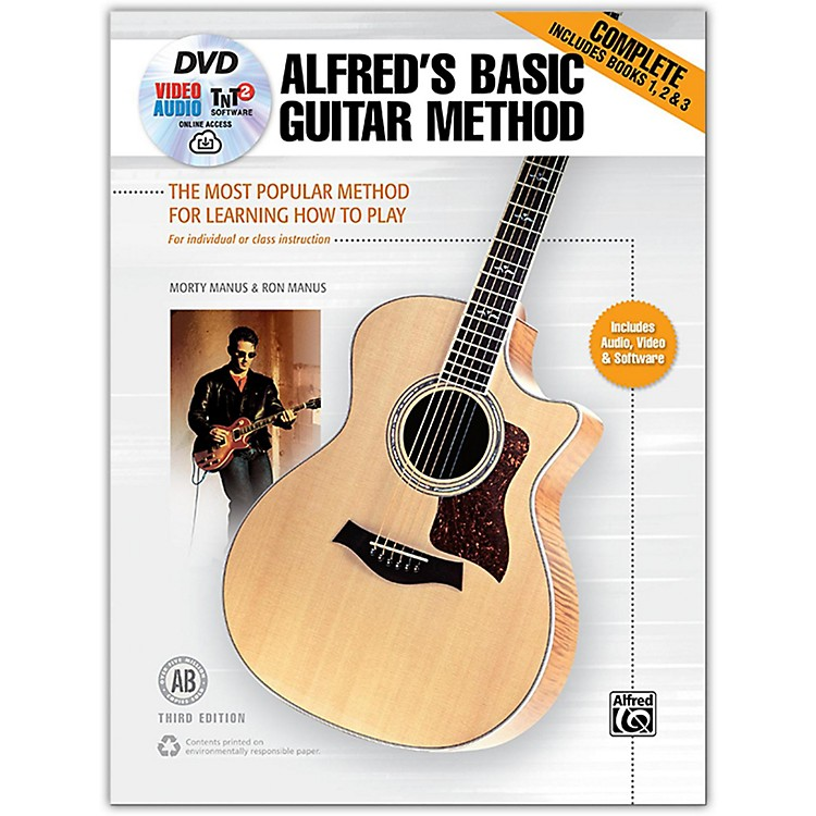 AlfredAlfred's Basic Guitar Method, Complete Book, DVD & Online Audio, Video & Software  Revised