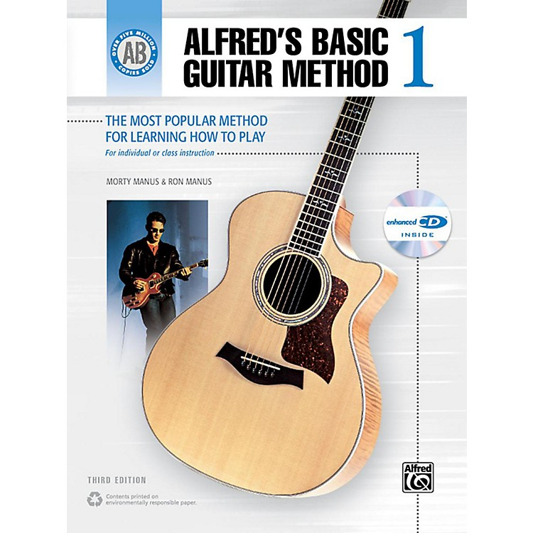 AlfredAlfred's Basic Guitar Method Level 1 Book and Enhanced CD