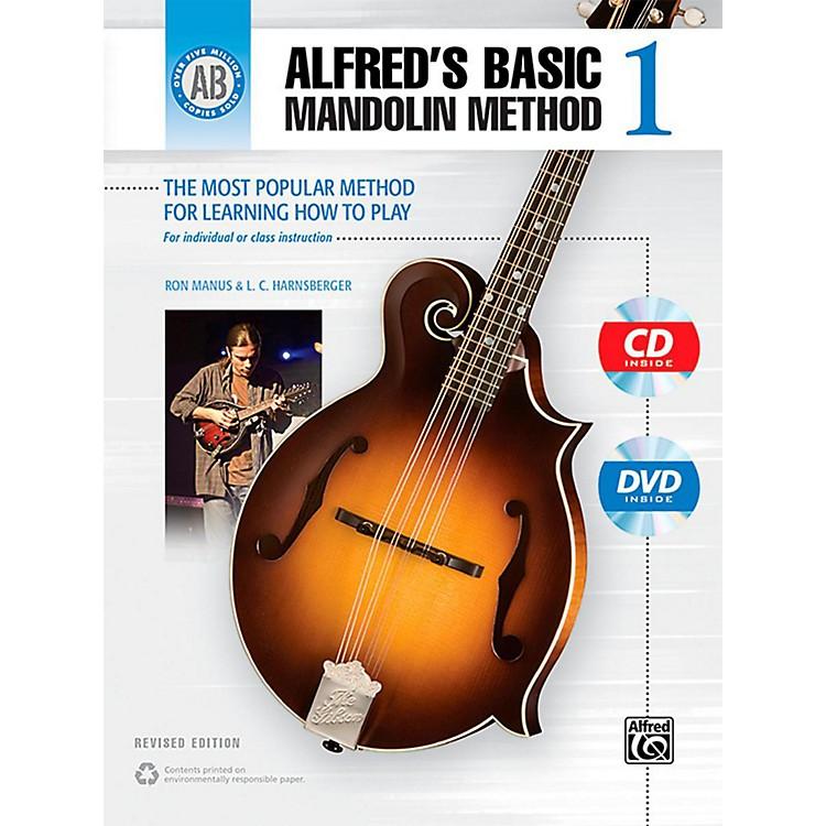 AlfredAlfred's Basic Mandolin Method 1 (Revised) Book, CD & DVD
