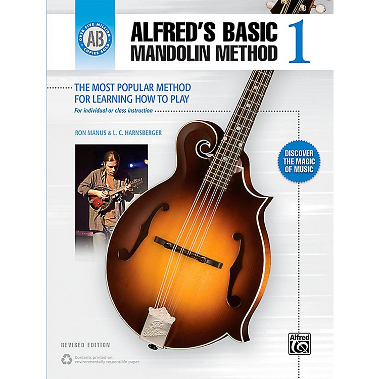 AlfredAlfred's Basic Mandolin Method 1 (Revised) Book