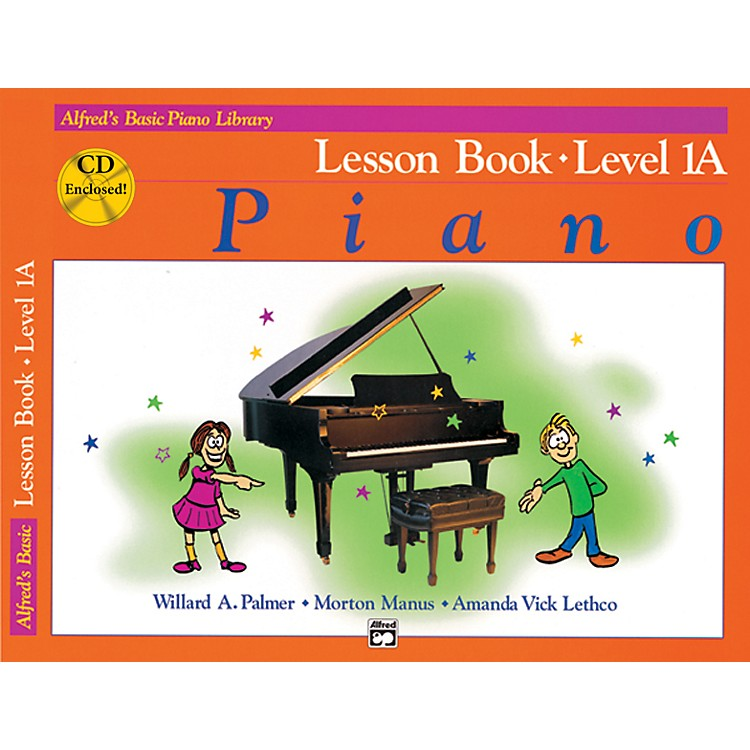 Alfred Alfred's Basic Piano Course Lesson Book 1A Book 1A & CD