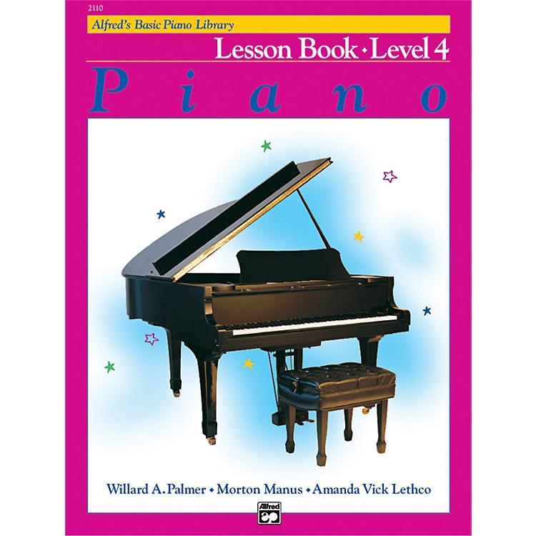 AlfredAlfred's Basic Piano Course Lesson Book 4