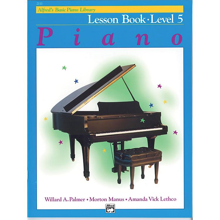 AlfredAlfred's Basic Piano Course Lesson Book 5