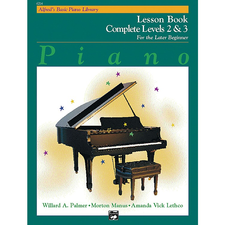 AlfredAlfred's Basic Piano Course Lesson Book Complete 2 & 3