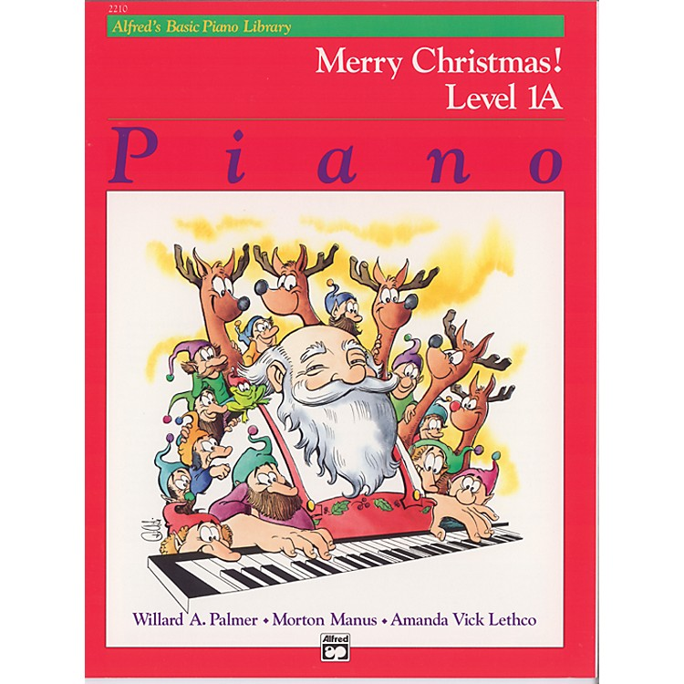 AlfredAlfred's Basic Piano Course Merry Christmas! Book 1A