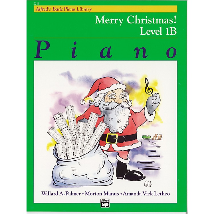 Alfred Alfred's Basic Piano Course Merry Christmas! Book 1B