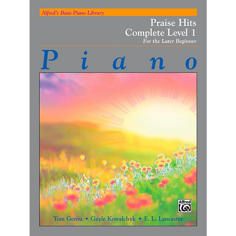 AlfredAlfred's Basic Piano Course: Praise Hits Complete Level 1A & 1B Book