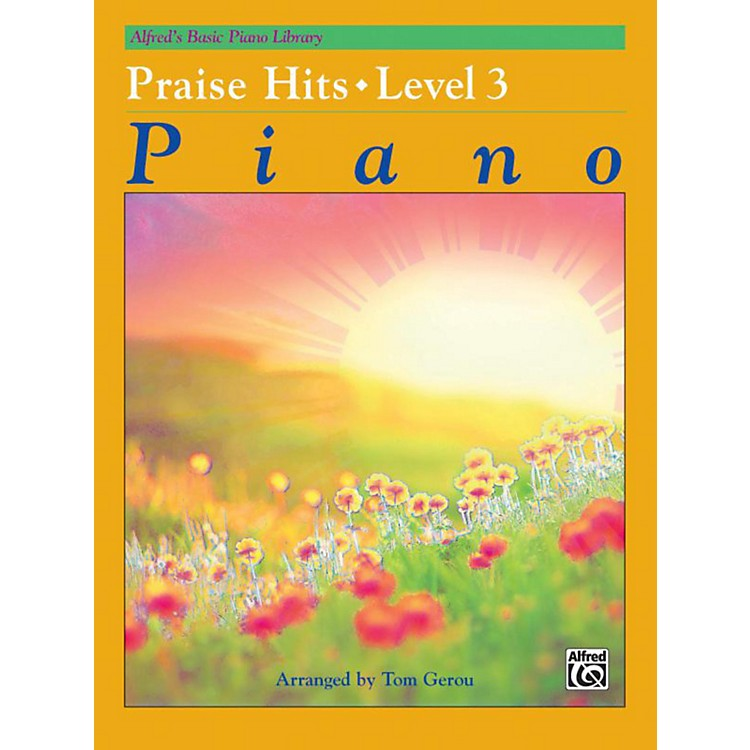 Alfred Alfred's Basic Piano Course Praise Hits Level 3 Book