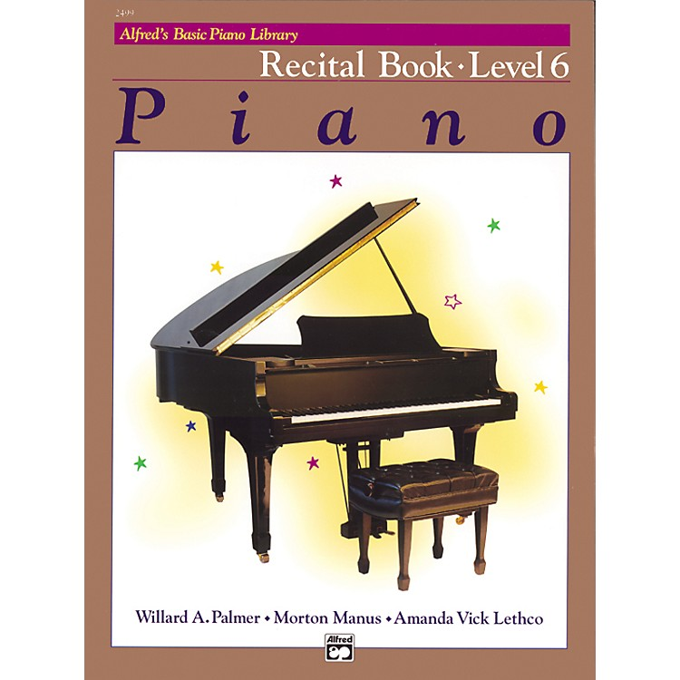 Alfred Alfred's Basic Piano Course Recital Book 6